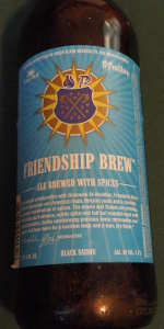 Green Flash / St. Feuillien Black Saison (Friendship Brew)