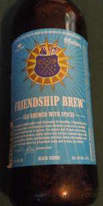 Green Flash / St. Feuillien Black Saison (Friendship Brew)