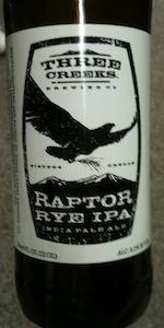 Raptor Rye IPA