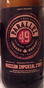 Barrel Aged Series: Russian Imperial Stout