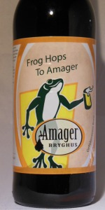 Hoppin' Frog / Amager (Bryghus) Frog Hops From Amager