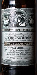 Brewer's Share Vendell's Veizen (Weizen Bock)