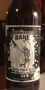 Minimalist Bane India Pale Ale (English IPA)