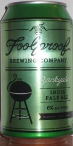 Backyahd India Pale Ale