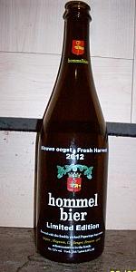 Hommelbier Nieuwe Oogst Fresh Harvest 2012