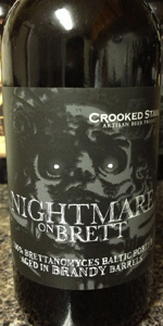 Crooked Stave Nightmare On Brett - Brandy Barrel