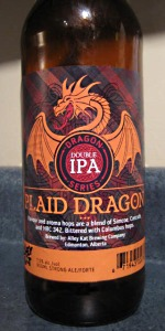 Dragon Series Plaid Dragon Double IPA