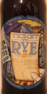 Ticket To Rye IPA