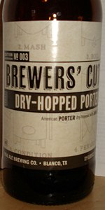Brewer's Cut Dry-Hopped Porter