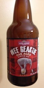 Wee Beastie Oak Aged Scotch Ale