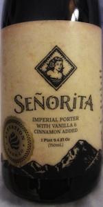 Señorita, Horchata Imperial Porter