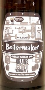 Brains Craft Brewery Boilermaker