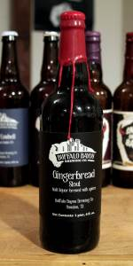 Barrel Aged  Secessionist #1 (Gingerbread Stout)