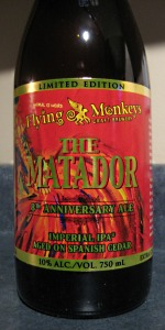 Flying Monkeys Matador Cedar Aged Double IPA