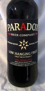 Low Hanging Fruit Fruit Beer Project - The Cherished