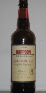 Harpoon 100 Barrel Series #45 - Directors' Cut