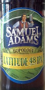 Samuel Adams Latitude 48 Deconstructed IPA - Mosaic (2013)