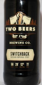 Switchback Russian Imperial Stout (Alta Series)