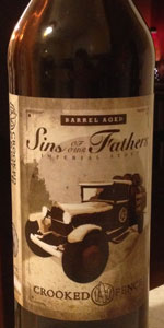 Barrel Aged Sins Of Our Fathers Imperial Stout