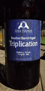Bourbon Barrel-Aged Triplication