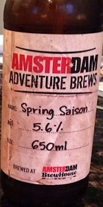 Amsterdam Early Spring Saison
