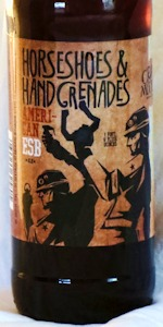 Horseshoes & Hand Grenades American ESB Ale