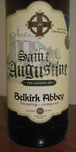 Saint Augustine Rye Saison