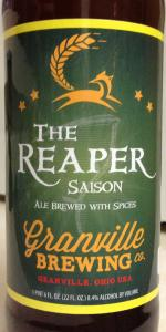 Granville Brewing The Reaper Saison