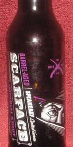 Scarface Imperial Stout (Bourbon Barrel Aged)