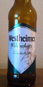 Westheimer Wildschutz Klostermann Zwickelbier