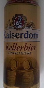Kaiserdom Kellerbier Unfiltriert