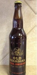 Old Guardian Barley Wine Style Ale - Oak-Smoked