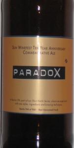 Smuttynose Short Batch #19 - ParadoX