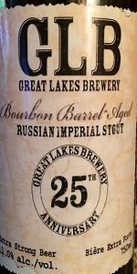Great Lakes 25th Anniversary Bourbon Barrel-Aged Russian Imperial Stout