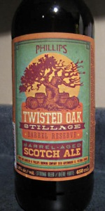Twisted Oak Stillage Barrel Reserve Scotch Ale