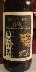 Brainless IPA Belgian-Style India Pale Ale