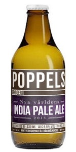 Poppels Nya Världens India Pale Ale