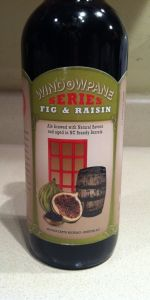 Window Pane Series Fig & Raisin