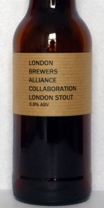 London Brewers Alliance Collaboration London Stout