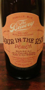 Sour In The Rye With Peaches
