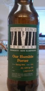 White Birch Our Humble Porter