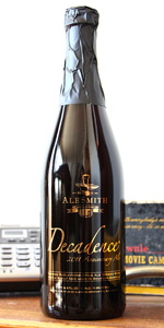 Decadence 2011 Maple-Smoked Barleywine - Bourbon Barrel-Aged