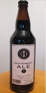 Anniversary Ale 1 - Imperial Stout