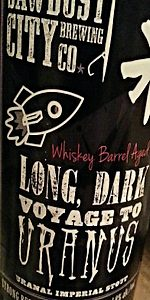 Long, Dark Voyage To Uranus - Whisky Barrel Aged