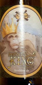 Monkey King Saison, Farmhouse Ale