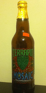 Terrapin Mosaic Single Hopped Rye Ale