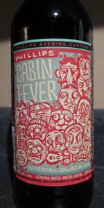Cabin Fever Imperial Black Ale