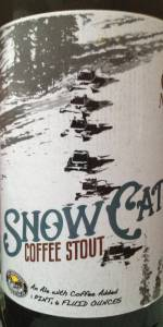 Snowcat Coffee Stout