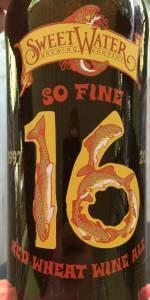 16th Anniversary Ale Red Wheat Wine