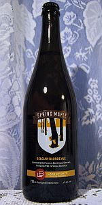 Spring Maple Belgian Blonde Ale